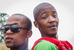 Two Zulu youths