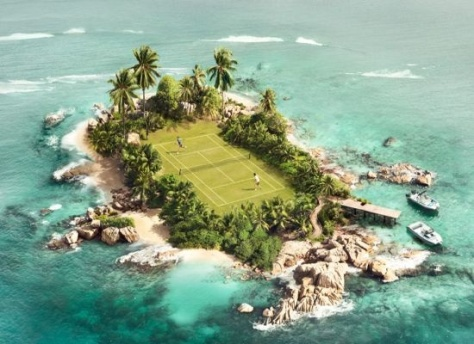 Most exclusive tennis court in the world?