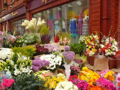 Dublin Flower Stall