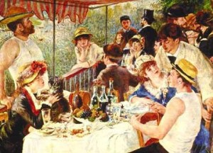 Luncheon in the time of the Impressionists