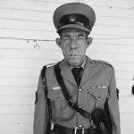 Sgt F de Bruin, Dep of Prisons