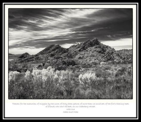 Mike Goldblatt Cederberg Hills in B&W