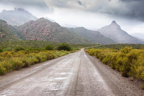 Road into the Cederberg
