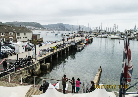 Simon's Town Waterfront warf.